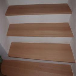 Restauration d'un escalier béton/sapin existant