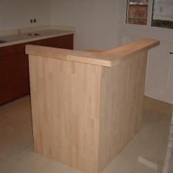 Ilot de cuisine bois massif