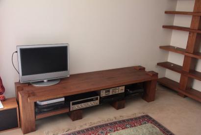 Table basse sur mesure bois massif