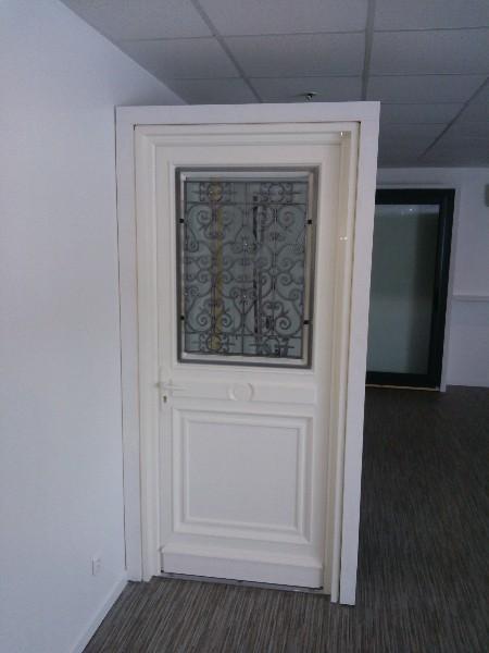 Porte Dentrée PVC Couleur Sable - Porte d entree pvc couleur